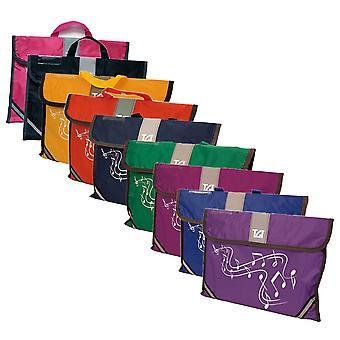 TGI Musik Träger - erhältlich in gelb, grün, Marine, Mulberry, rot, schwarz, Rosa Lila oder blau