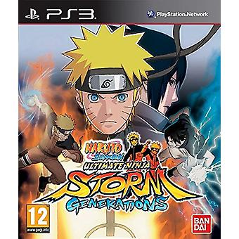 Naruto Shippuden Ultimate Ninja Storm - Generaties (PS3) - Als Nieuw