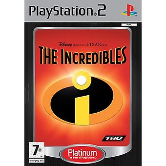 The Incredibles (PS2)-fabriek verzegeld