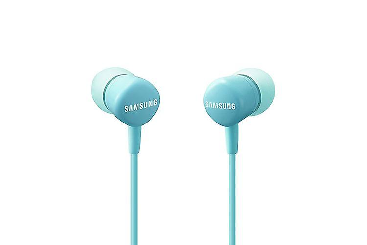 Original EO-HS1303LEG Samsung stereo in ear headset with remote control - blue blister