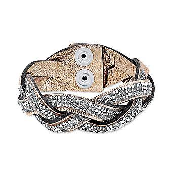s.Oliver jewel ladies bracelet brass leather SOAKT/157