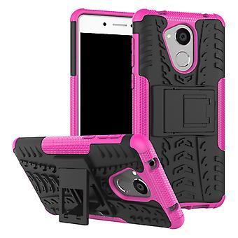 Caso híbrido 2 peça SWL rosa ao ar livre para a proteção capa case Huawei honra 6C bolsa