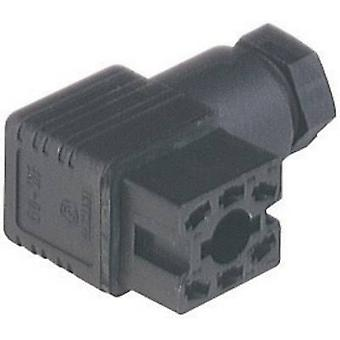 Hirschmann 932 448-100 GO 60 WF Contact Box With PG 7 Cable Gland And Solder Contacts Black Number of pins:6