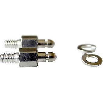 Provertha 104T22002 Mounting bolt Silver 2 pc(s)