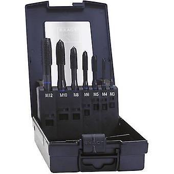 Exact 42305 CNC tapping head set 7-piece metric Right hand cutting DIN 371 HSS-E Shape B 1 Set