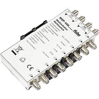 fuba MSP 408 SAT multiprzełącznik wejścia (multiprzełączników): 4 (4 naziemna TV SAT/0) nr uczestników: 8