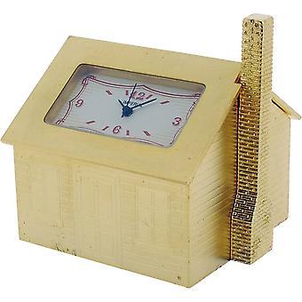 Cadeau tijd producten ingericht huis miniatuur klok - goud