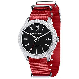 Spinnaker Bernard Automatic Watch - Red/Black