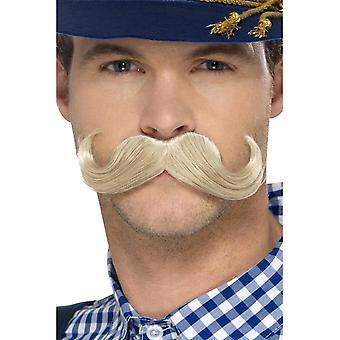 Smiffy's Authentic Bavarian Oktoberfest Moustache, Blonde