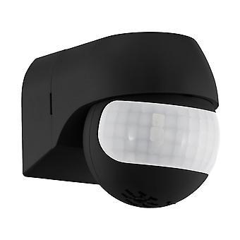 Eglo Detect Me PIR 1 Motion Sensor In Black
