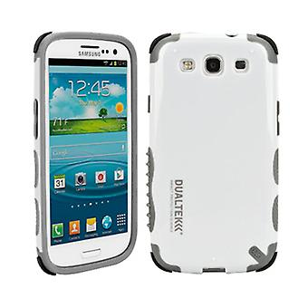 5 Pack -PureGear DualTek Extreme Impact Case with 3M EAR for Samsung Galaxy S3 (White) - 02-001-01675