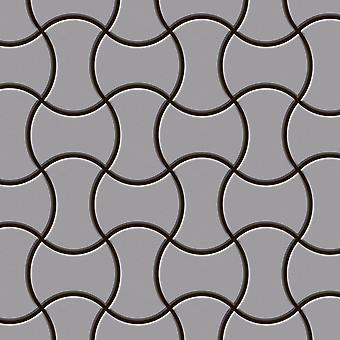 Metal mozaic oțel inoxidabil aliaj infinit-S-S-MA