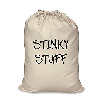 Laundry Bag Stinky Stuff 100% Natural Cotton