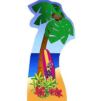 Palm Tree (Beach Party) - Lifesize karton gestanst / Standee