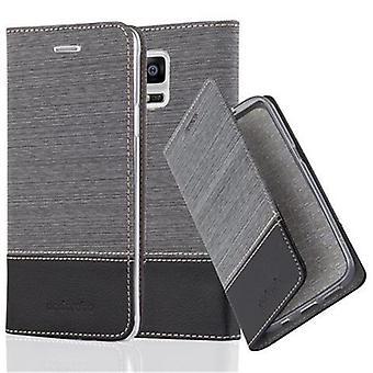 Fodral för Samsung Galaxy NOTE 4 vikbart telefonhölje - lock - med stativfunktion och kortfack