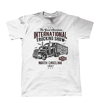 International Trucking Show, Camiseta para Hombre - American Ice Truckers Big Gift Him