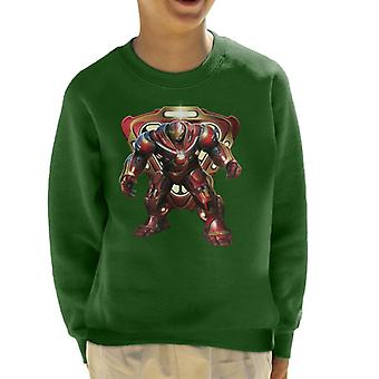 Marvel Avengers Infinity War Hulkbuster Battle Ready Kid's Sweatshirt