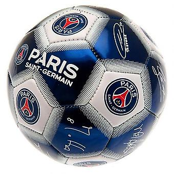 Paris Saint Germain Mini Ball Signature
