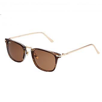 Förenkla Theyer polariserade solglasögon - brun/brun