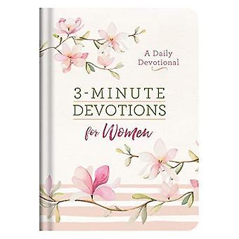 3 minuten devoties voor vrouwen: een dagelijkse devotionele (3 minuten devoties)