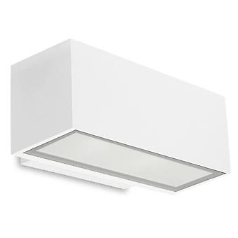 Afrodita grå liten dobbel LED utendørs Wall Light - LED-C4 05-9911-34-CL