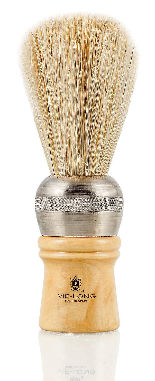 Vie-Long 4102 Mix Bristle and White Horse Hair Professional Shaving Brush