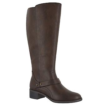 Easy Street Womens 30-9556 Almond Toe Knee High Riding Boots