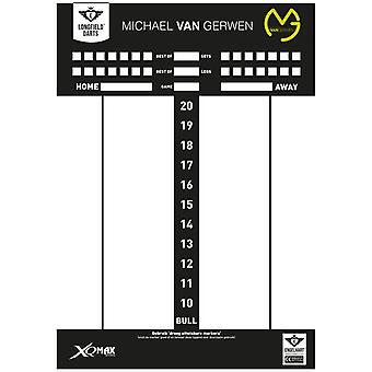 Longfield Darts Michael Van Gerwen Scorebord
