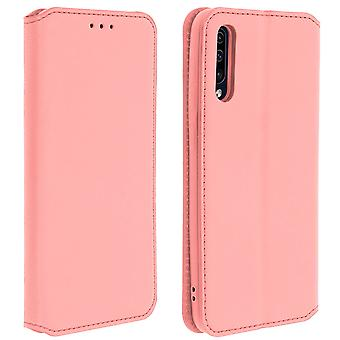 Classic Edition stand case with card slot for Samsung Galaxy A50 - Rose gold