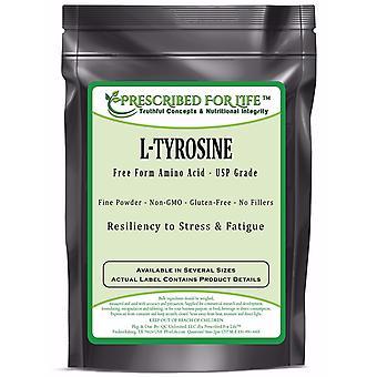 Tyrosine (L)-poudre d'acide aminé de forme libre-résilience au stress et fatigue