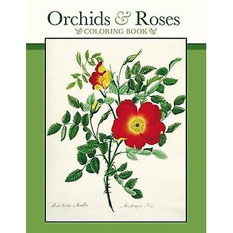 Orchids & Roses Colouring Book CB166 - 9780764971181 Book