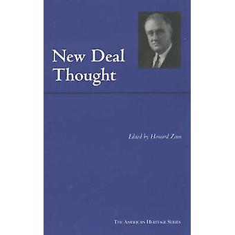 New Deal Thought by Howard Zinn - 9780872206854 Book
