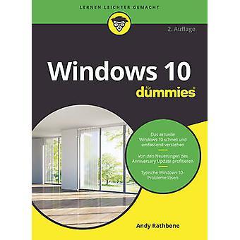 Windows 10 Fur Dummies by Andy Rathbone - 9783527713509 Book