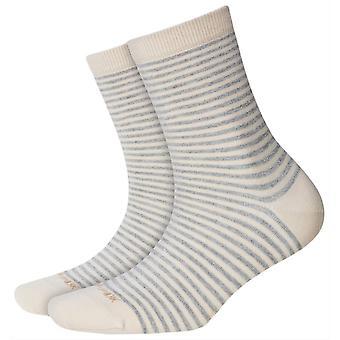 Burlington Ladywell Ringlet Socks - Melange Grey
