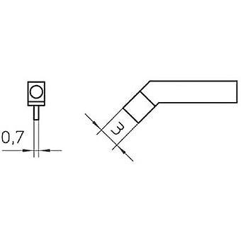 Weller RTW3 Soldering tip Chisel-shaped, straight Tip size 3 mm Content 1 pc (s) Weller RTW3 Soldering ponta Chisel-shaped, tamanho de ponta reta 3 mm Conteúdo 1 pc (s)