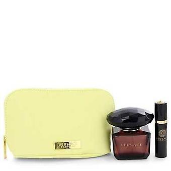 Crystal Noir av Versace Gift Set-3 oz Eau de Toilette Spray + 0,3 oz mini EDT spray i Versace P V728-543334