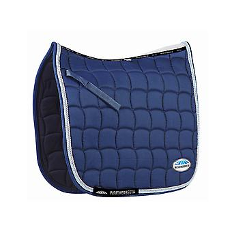 Weatherbeeta Performance Dressage Pad - Indigo/blue/silver