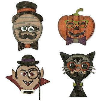 Sizzix Thinlits Die Set Hip Haunts Set of 10 par Tim Holtz