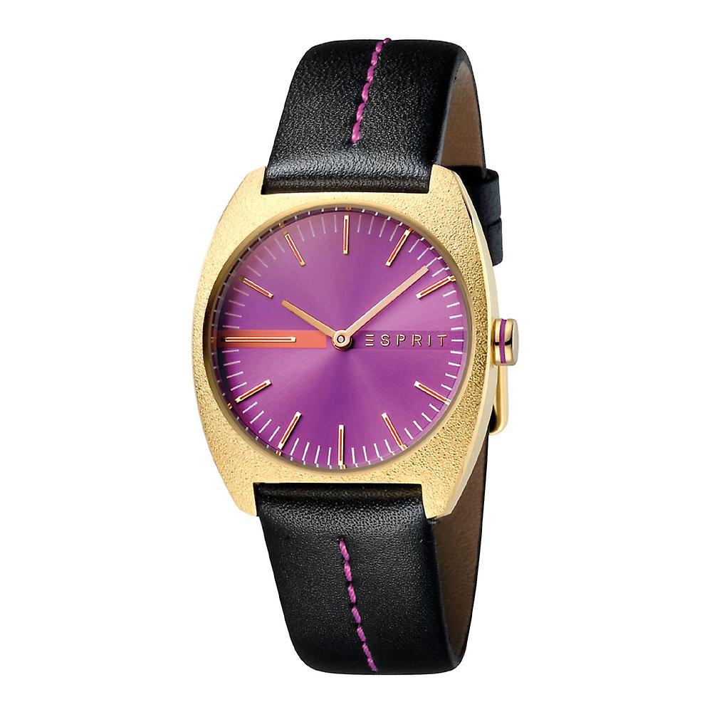 Esprit ES1L035L0035 Spectrum Purple Black Gold Damenuhr