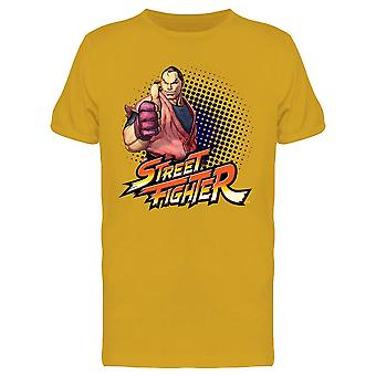 Street Fighter Dan Hibiki Tee Men's -Capcom Designs