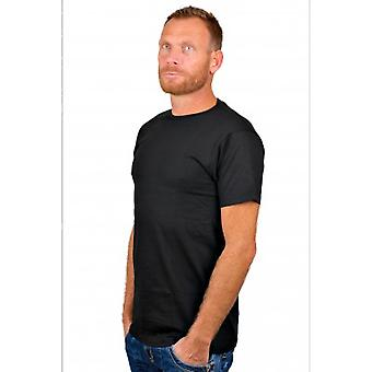 Alan Red T-Shirt Derby Black Two Pack  (extra long)