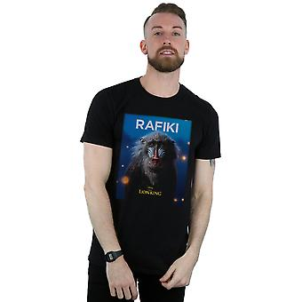 Disney Men's The Lion King Movie Rafiki Poster T-Shirt