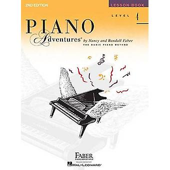 Faber Piano Adventures - Level 4 - Lesson Book (2nd Revised edition) -