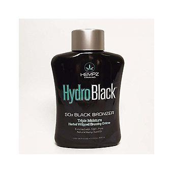Hempz Hydro preto 50x bronzer escuro hidratante creme pele bronzeamento loção 400ml