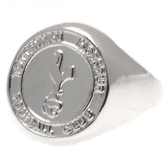 טוטנהאם הוטספר טבעת קרסט מצופה כסף