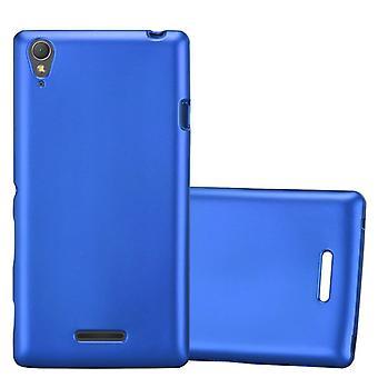 Cadorabo Case voor Sony Xperia T3 gevaldekking-flexibele TPU silicone case geval ultra slanke zachte terug Cover Case bumper