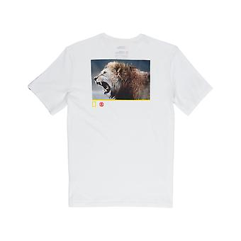 Element Snarl Short Sleeve T-Shirt in Off White