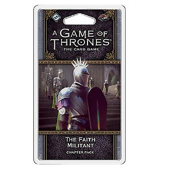 The Faith Militant Chapter Pack A Game of Thrones the Card Game LCG
