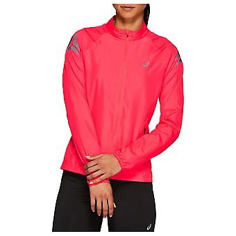 Asics Womens Ladies Icon Long Sleeve Lightweight Casual Sports Jacket Top