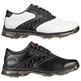 Callaway Golf Mens X Nitro PT Leather Waterproof Golf Shoes